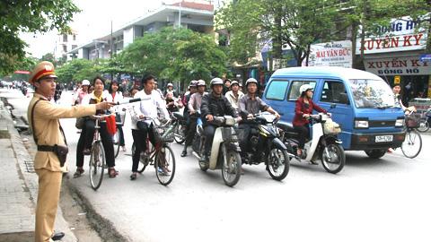 Tình hình trật tự an toàn giao thông tháng 7-2014