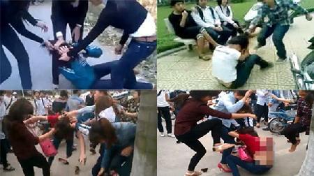 Từ bạo lực gia đình đến bạo lực học đường