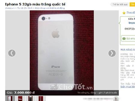 Lừa bán iPhone giá rẻ để cướp