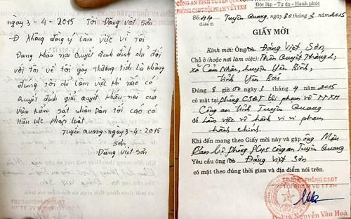 Án 'lạ' ở Tuyên Quang: Bộ công an yêu cầu làm rõ