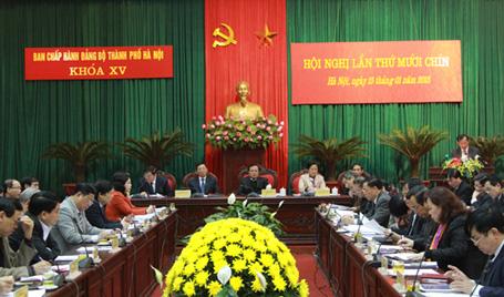 Hà Nội bầu bổ sung 2 Phó Bí thư Thành ủy