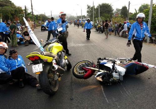 Tai nạn tại giải đua xe đạp: có phạm luật giao thông?