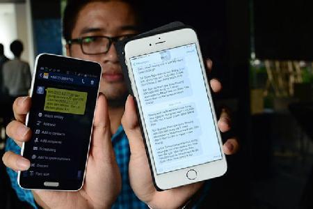 Phối hợp công an xử lý tin nhắn rác